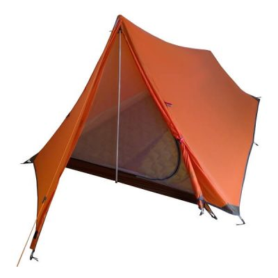 Light weight tents for hiking Orange Vuno Port William