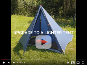 The Divide ligthtweight tent video preview image