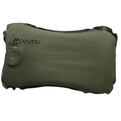 Hiking Pillow Ultralight Weight Inflatable Vitality Army Green Top View