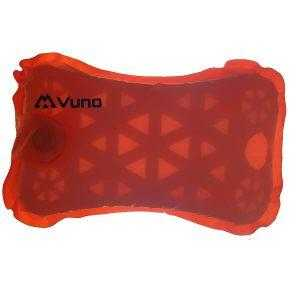 Vuno Vitality Ultralight Weight Foam Inflatable Air Pillow Orange FOAM IMAGE