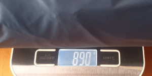 Weighs less than 900 grams