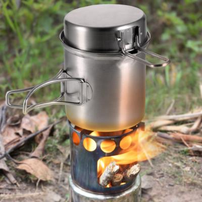 wood stove camping