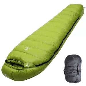 0 Degree Down Sleeping Bag Green