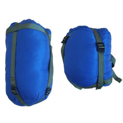 Cadeno CD400 blue in compression sack