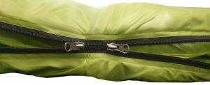 PD800 YKK Dual Zipper green sleeping bag