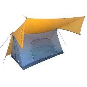 Light 2 Person Poleless Tent for Hiking Pole-less Vuno Circuit Orange Main Image