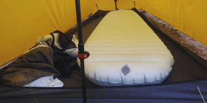 Cold resistant mattress 10cm in tent