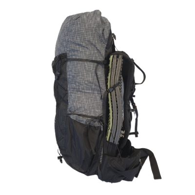 UL Backpack Grey Side View