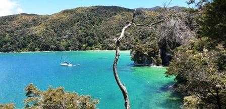 Akerston Bay Amazing Coastal Views on Abel Tasman Great Walk