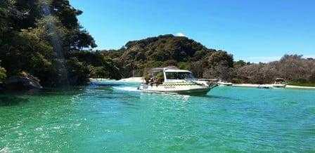 Marahau Water Taxis on the Way to Bark Bay Campsite