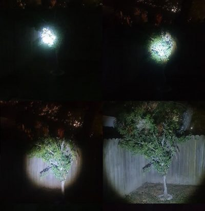 Big Picture Water resistant LED torch zoom examples