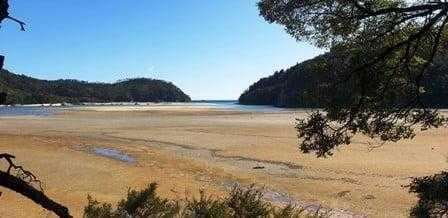 Bay Village Campsite - Abel Tasman DOC Campsites