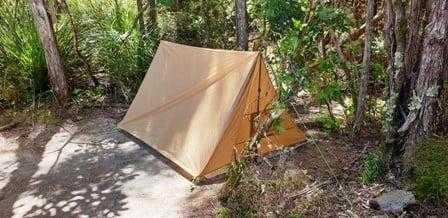 Vuno ultralight tent at Torrent Bay Village Campsite - Abel Tasman National Park Campsite