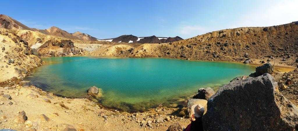 Beautiful Lowe Emerald Lake Tongariro Alpine Crossing