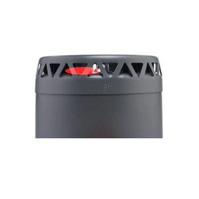 Heat Exchange Cooker Pot and Pan Set side shot of heat exchange