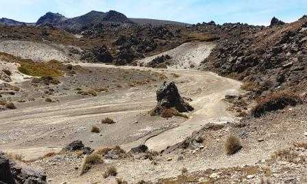 Hiking on Mars Tongariro Northern Circuit Great Walk