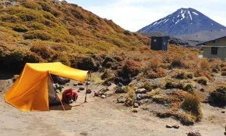 Oturere Campsite Tongariro Northern Circuit