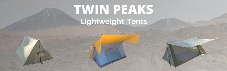 Twin Peaks Lightweight Tents 2