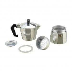 Stove Top Espresso Coffee Maker Exploded View