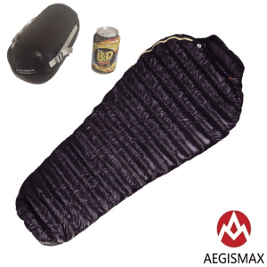 Aegismax Mini Sleeping Bag with stuff sack