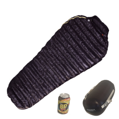 Aegismax Mini Sleeping Bag with stuff sack and L & P