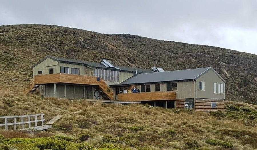 Luxmore Hut Kepler Track Huts NZ