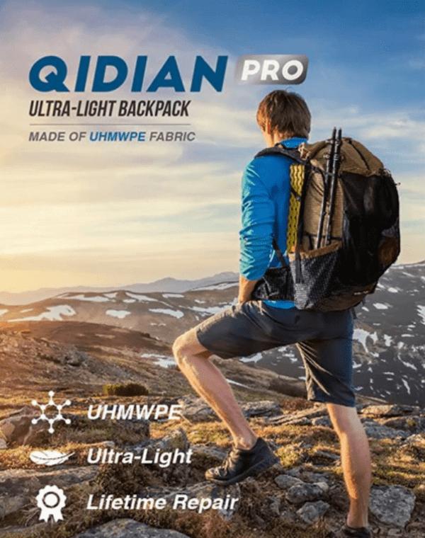 3F UL Gear Qidian Pro 56L