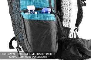 2 Large side pockets