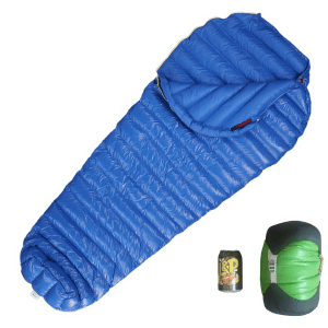 Aegismax M2 Ultralight Sleeping Bag Blue with Stuff Sack