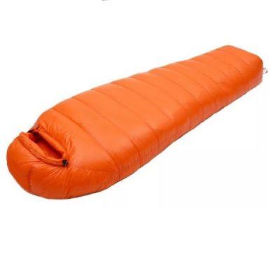 Down Sleeping Bag Summer Orange