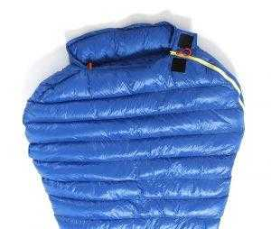 M2 Sleeping bag top section wide shoulder space