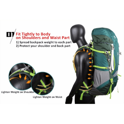Maleroads 70L Tramping Backpack CR Carry System