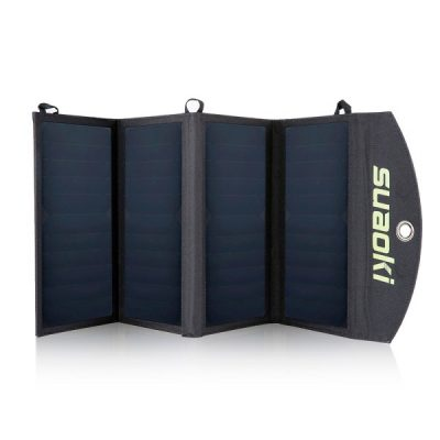 Suaoki Solar Charger 25W with USB Output