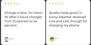 Suaoki Solar Charger Customer Reviews 2