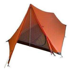 Tent for Hiking Pole-less Orange