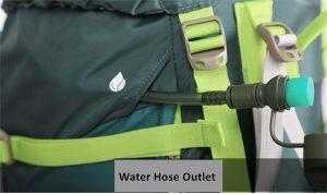 Water hose outlet included