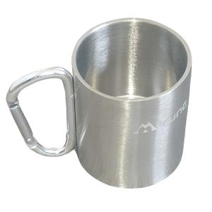 carabiner camping mug