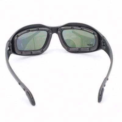 Inside view with polarized lenses