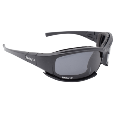 Side angled shot Tactical Polarized Glasses