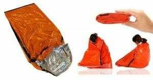 Use as an emergency sleeping bag