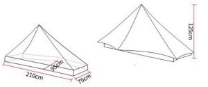 3F UL Lanshan 1 Tent Dimensions
