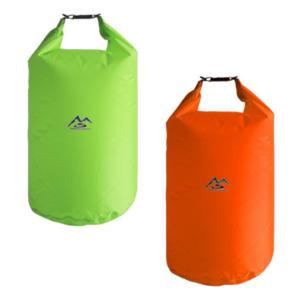 70L Dry Bag Pack Liner 138 grams orange and green