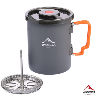 Backpacking Coffee Maker Plunger Pot