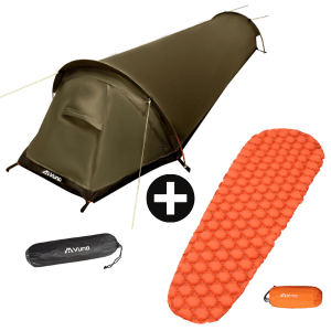 Bivy Bag Tent with Lightweight Mattress