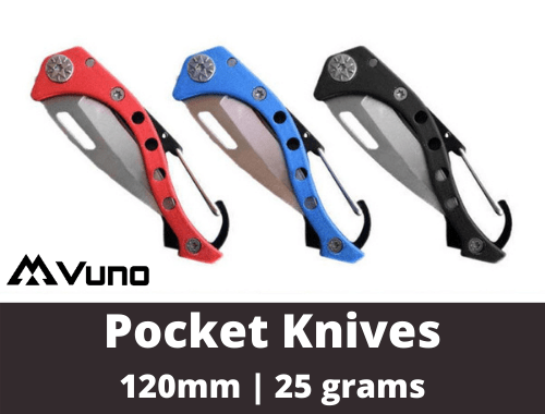 Carabiner Pocket Knifes