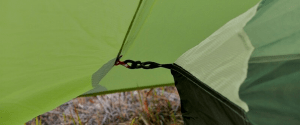 Flysheet can be detached and attached easily