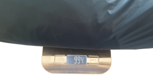 Weighs only 994 grams