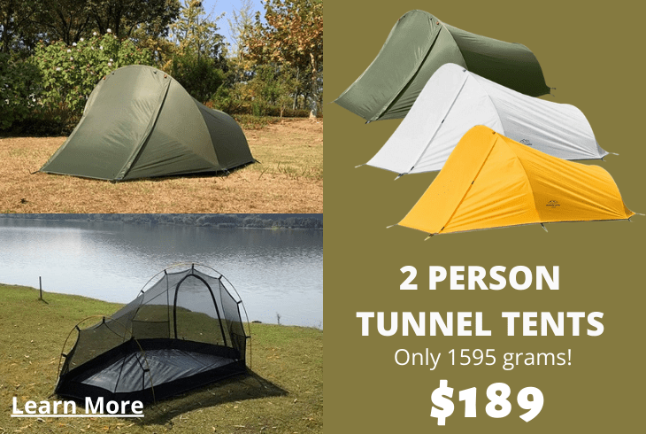 2 Person Tunnel Tents