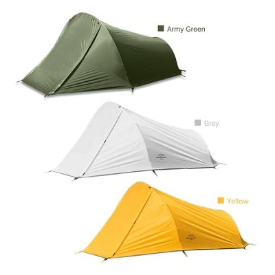 3 Colours available Yellow white army green tent