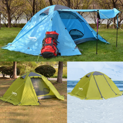 Winter Camping Tent 4 season 2 Person